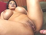 MILF With Mega Boobs Gets Plugged
