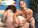 Horny Midget Sits On Huge BBW's Face